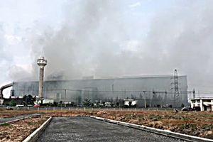 Nhà máy thép Pomina 3 xả khí thải chưa qua xử lý thải ra môi trường