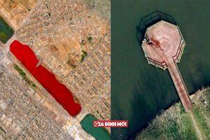 12 bức ảnh cực độc gây xôn xao dư luận một thời do Google Earth tình cờ chụp lại