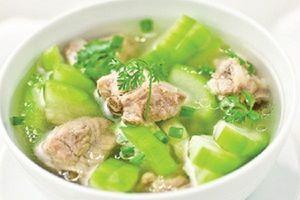Hướng dẫn nấu món thịt vịt hầm bí xanh thơm ngon, thanh mát, chữa nhiều bệnh