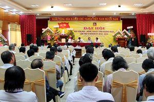 Quảng Ngãi: Đại hội Hội Văn học nghệ thuật tỉnh lần thứ V, nhiệm kỳ 2018-2023