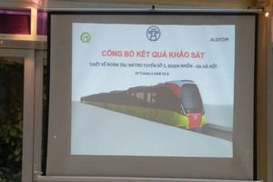 Đường sắt Nhổn - ga Hà Nội: Mua 10 đoàn tàu giá 110 triệu Euro