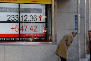 Chứng khoán Nhật đạt mức cao nhất 27 năm