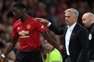 Mourinho mâu thuẫn Pogba, ứng lời nguyền 'mùa giải thứ 3 là thất bại'
