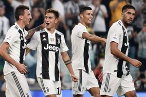 Juventus vs Napoli (3-1): Ronaldo lập cú đúp kiến tạo