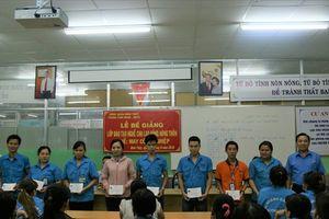 LĐLĐ quận Bình Thủy: Thường xuyên tổ chức lớp học, tạo việc làm cho lao động nhàn rỗi