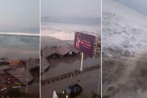 Hành động khó hiểu của Indonesia trước khi sóng thần cao 2m ập vào