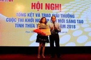 Thừa Thiên - Huế trao giải cuộc thi 'Khởi nghiệp đổi mới sáng tạo'