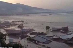 Kinh hoàng động đất, sóng thần tấn công Indonesia