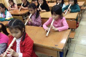 Triển khai dạy sáo Recorder trong trường tiểu học