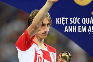 Luka Modric bất ngờ than phiền: 'World Cup làm tôi kiệt sức'