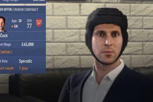 Cech phản ứng ra sao khi phải đội mũ bảo hộ đàm phán hợp đồng