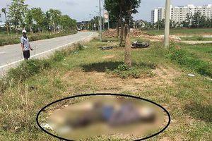 Người đàn ông nước ngoài tử vong gần chiếc xe máy hư hỏng
