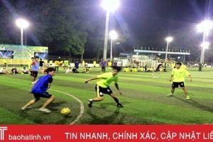 Khai mạc Giải bóng đá Hội Đồng hương Cẩm Xuyên khu vực phía Nam