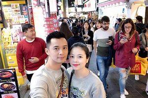 Mang bầu bé thứ 4 sắp sinh, Hằng 'Túi' mới quyết định trốn con đi du lịch Hàn Quốc hưởng tuần trăng mật cùng chồng