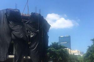 Hà Nội: Cận cảnh nhiều công trình xây dựng tiềm ẩn nguy cơ tai nạn