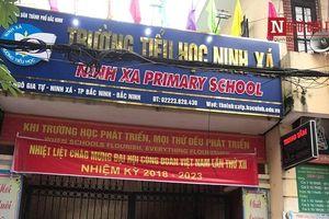 Vụ 45 học sinh bị ngộ độc ở Bắc Ninh: Nhà trường dừng cho học sinh ăn bán trú