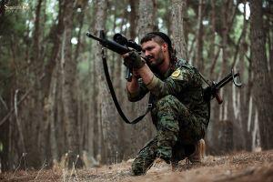 Thánh chiến Syria đọ súng ác liệt với dân quân Kurd