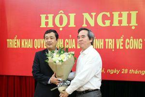 Thái Bình có tân Phó Bí thư Thường trực Tỉnh ủy