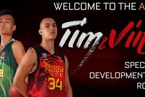 Xác nhận: Tim Waale và Nguyễn Huỳnh Phú Vinh khoác áo Saigon Heat ở ABL 9
