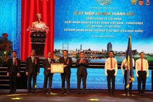 Vinaconex giữ vững thương hiệu hàng đầu của ngành xây dựng Việt Nam