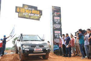 Khởi tranh giải đua xe ô tô địa hình Việt Nam 2018