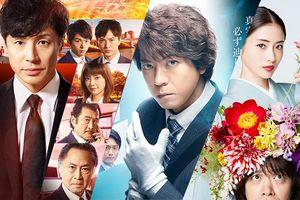 Phim truyền hình Nhật Bản nào có rating cao nhất hè 2018?