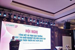 Thừa Thiên - Huế: Trao giải cuộc thi 'Khởi nghiệp sáng tạo đổi mới 2018'