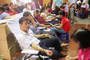 Huyện Tĩnh Gia: 1.300 người tham gia hiến máu nhân đạo