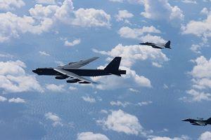 Quan hệ Mỹ-Trung 'nóng' lên với tần suất bay của B-52 ở Biển Đông