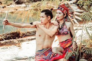 Cặp đôi Hà Tĩnh chụp ảnh cưới phong cách thổ dân đẹp rực rỡ