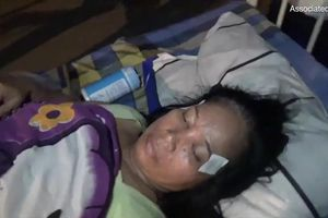 Clip: Người bị thương vạ vật ở bệnh viện sau thảm họa động đất Indonesia