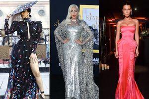 Lady Gaga, Bella Hadid mặc cổ điển đẹp nhất tuần qua