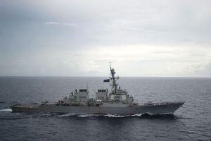 Tàu chiến Mỹ tiến gần Trường Sa, thách thức Trung Quốc
