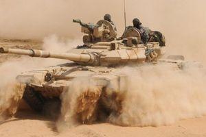 Quân đội Syria giáng đòn sấm sét, IS vùi thây trong sa mạc