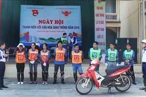 Lạng Sơn tổ chức Ngày hội thanh niên với văn hóa giao thông