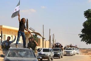 Syria: Nhóm nổi dậy đầu tiên rút khỏi khu phi quân sự ở Idlib