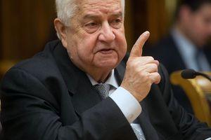 Ngoại trưởng Syria: Liên minh do Mỹ cầm đầu 'hỗ trợ quân sự trực tiếp' cho khủng bố