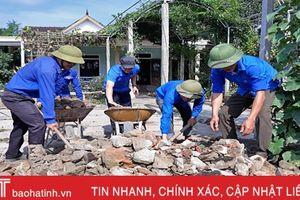 Thạch Hà huy động 356.297 ngày công làm vườn mẫu, khu dân cư kiểu mẫu