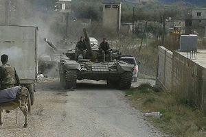 Quân đội Syria giáng trả dữ dội phe thánh chiến khiêu khích