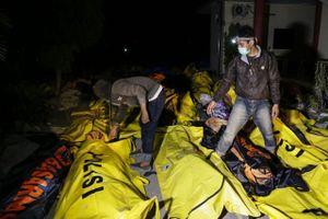 Thảm họa sóng thần Indonesia: Số người chết có thể lên tới hàng nghìn người