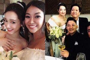 Váy cưới lộ phần nhạy cảm, hành động của Nhã Phương được cư dân mạng khen nức nở