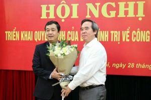 Phó trưởng Ban Kinh tế Trung ương Ngô Đông Hải làm Phó bí thư Thái Bình