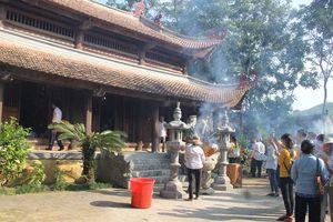 Dâng hương tưởng nhớ công lao của Trung Túc Vương Lê Lai