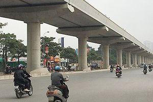 Dự án đường sắt đô thị Nhổn - Ga Hà Nội sẽ khai thác trước 8km trên cao vào năm 2021