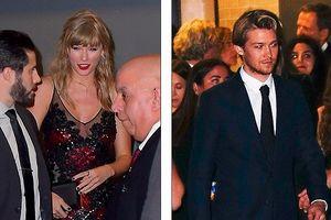 Taylor Swift đẹp hút mắt, sánh đôi cùng bạn trai trong buổi ra mắt phim mới
