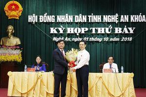 Ông Thái Thanh Quý giữ chức Chủ tịch UBND tỉnh Nghệ An