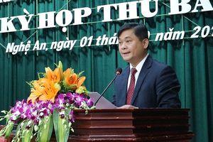Nghệ An có tân chủ tịch UBND tỉnh 42 tuổi