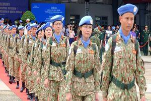 63 bác sĩ quân y VN sẵn sàng qua châu Phi gìn giữ hòa bình
