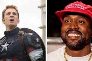 'Captain America' chỉ trích Kayne West vì ủng hộ ông Trump
