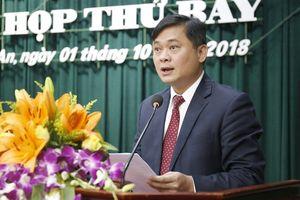 Ông Thái Thanh Quý được bầu giữ chức Chủ tịch UBND tỉnh Nghệ An